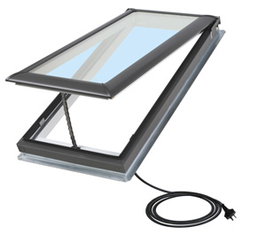 Roof windows albany skylights for Velux skylight remote control manual
